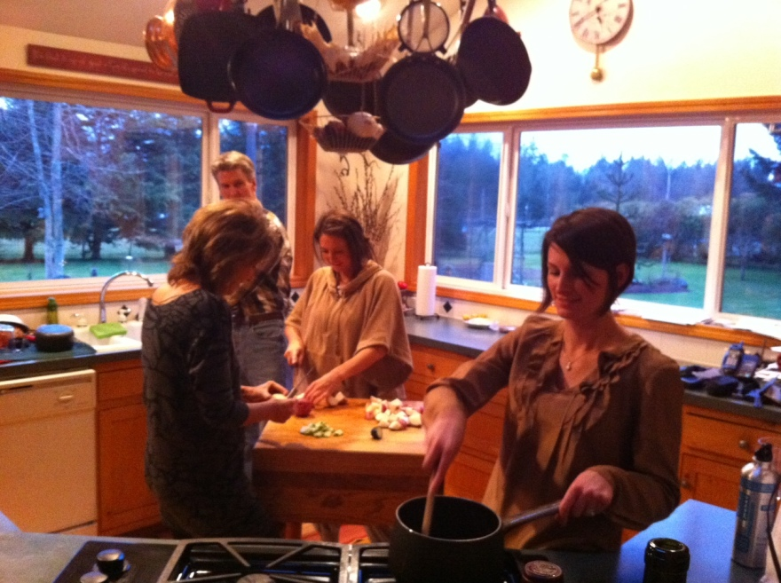 The family that cooks together 8-)