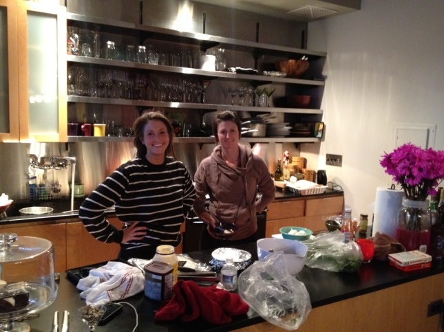 Chopped dinner party...prep'n our meals