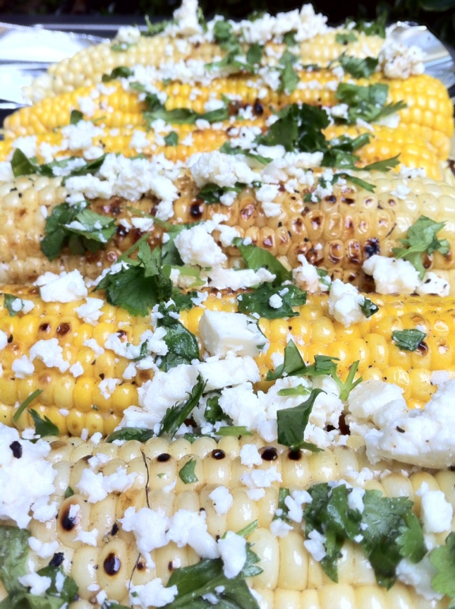 Butter Roasted Corn with Cilantro & Cotija Cheese | the Seattle Cook