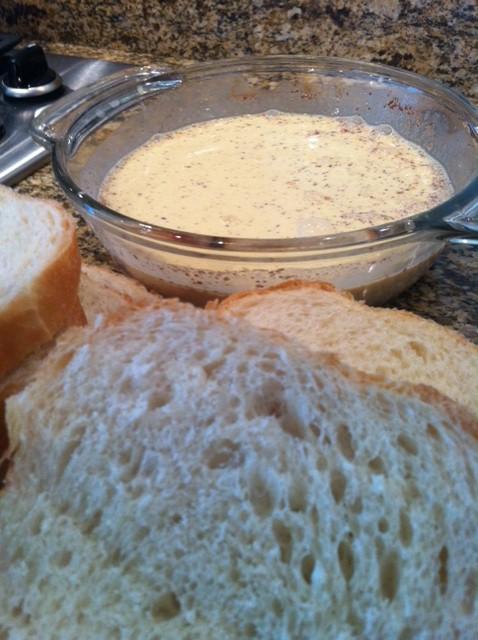 Slice bread into 1inch slices