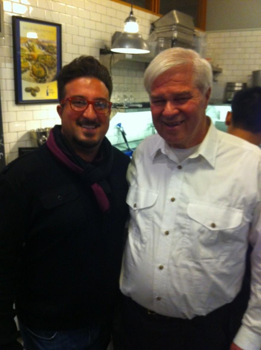 Me with Jon Rowley.