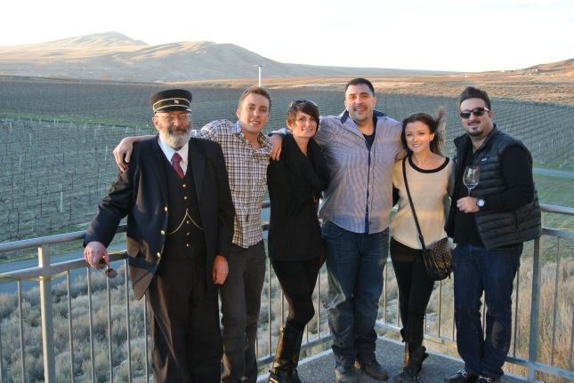 Our conductor from Fruit of the Vines tours!