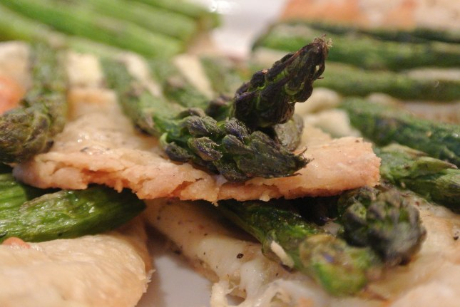 Asparagus Tart AND Arugula