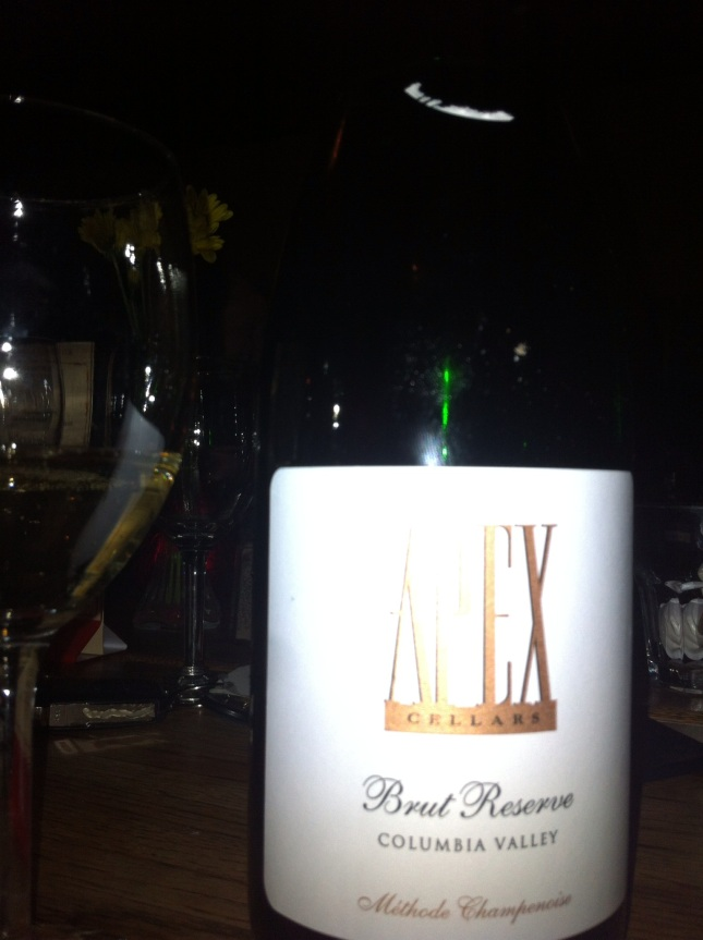 Day 3: Apex Cellars Brut Reserve