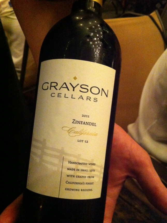 Day 11: Grayson Cellars 2011 Zinfandel