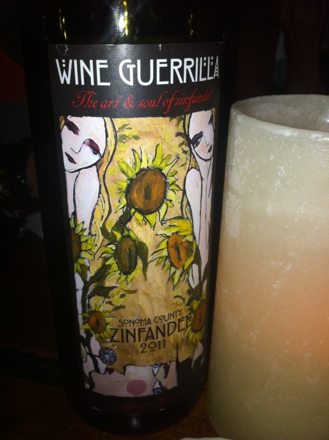 Day 13: Wine Guerrilla Zinfandel 2011