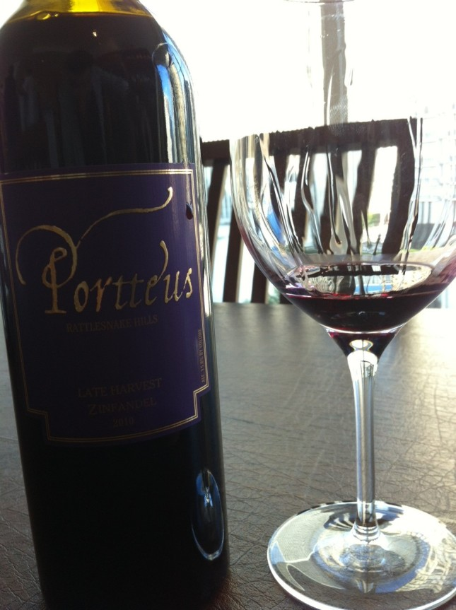 Day 17: Portteus Late Harvest Zinfandel 2010