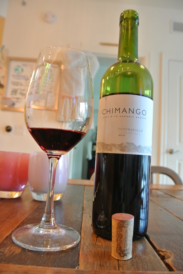 Day 15: Chimango Tempranillo 2010