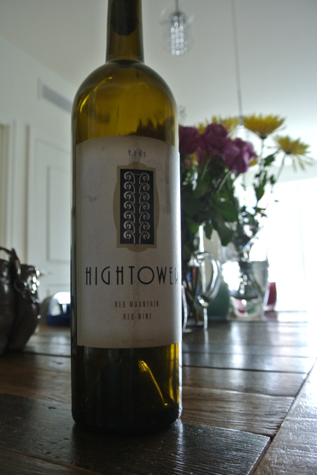 Day 18: Hightower Red Mountain Red Wine 2006