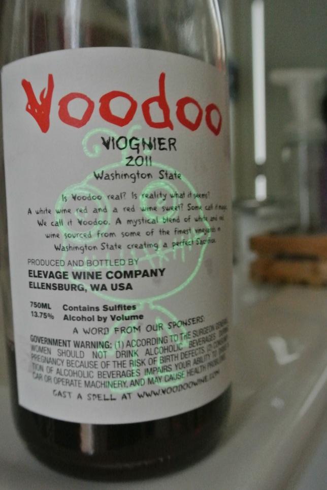 Day 19: Voodoo Viognier 2011