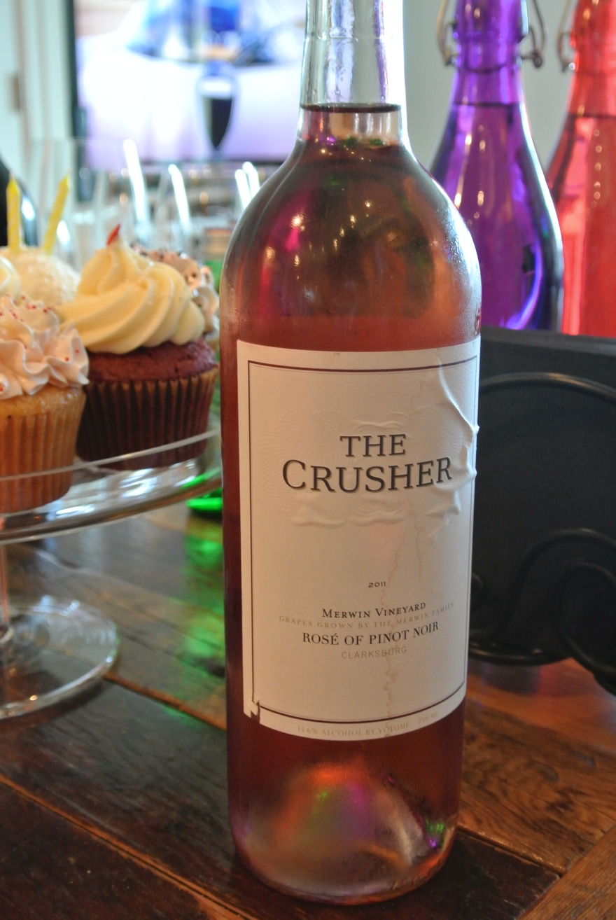 Day 23: The Crusher Rose of Pinot Noir 2011