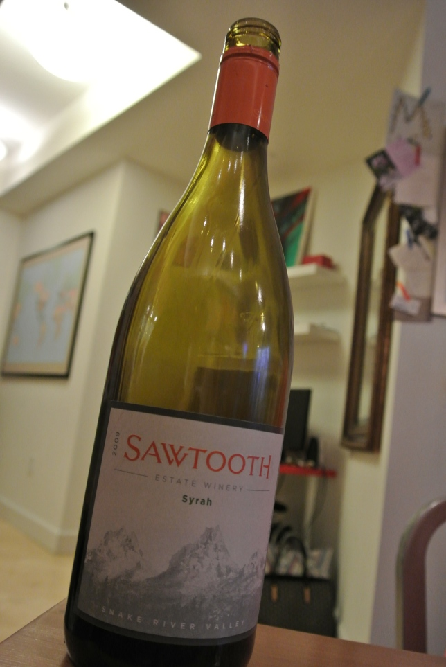Day 24: 2009 Sawtooth Syrah