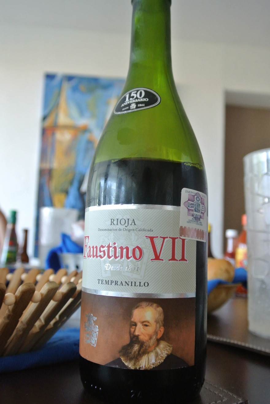 Day 26: Faustino VII Rioja Tempranillo 2010
