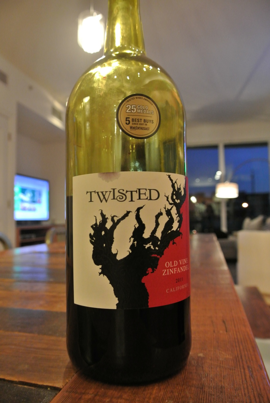 Twisted Old Vine Zinfandel 2011 California