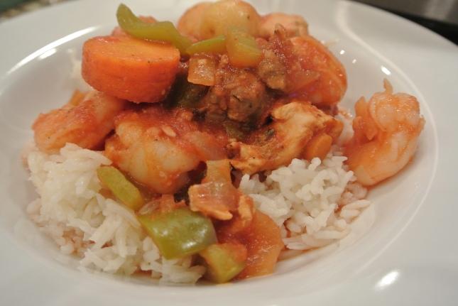 Serve over rice! ;0)