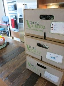 Terra Organics 1st shipment